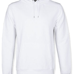Colorful Standard White Hoodie