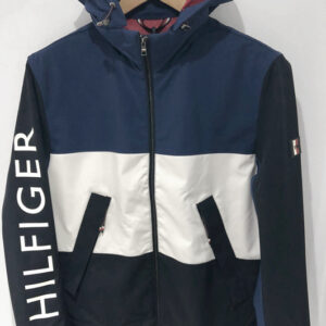 Tommy Blocked Jacket Front